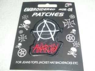 Anarchy - Sew On Patch
